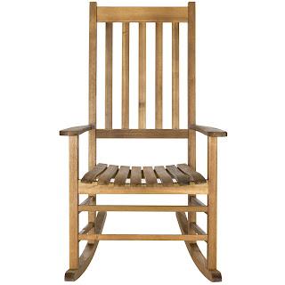 Safavieh Shasta rocking chair at Decor Market - found on Hello Lovely Studio
