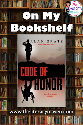 In Code of Honor by Alan Gratz, Kamran Smith used to have it all: a starring role on the football team, a beautiful girlfriend, the title of Homecoming King, a loyal best friend, and a spot at West Point in the fall. But after his brother is named as a suspected terrorist, Kamran and his parents are deatined by Homeland Security and Kamran must fight to prove to everyone, even himself, that his brother is innocent. Read on for more of my review and ideas
