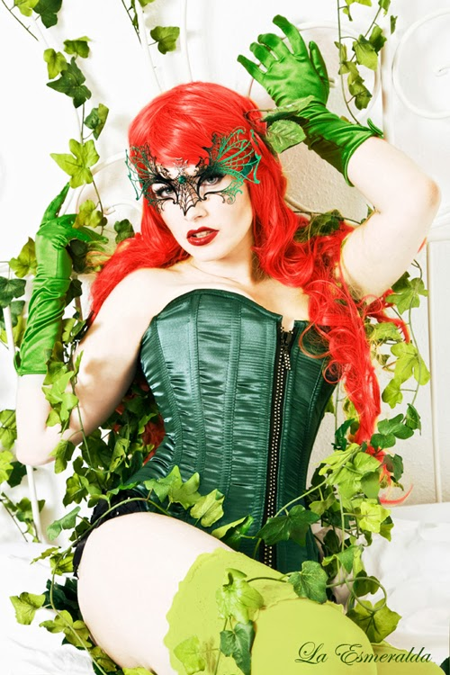 Poison Ivy Cosplay By La Esmeralda