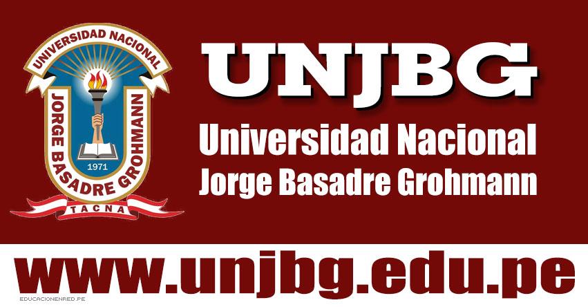 Resultados Examen UNJBG 2019 - Fase I (20 Enero) Lista Ingresantes Admisión - Universidad Nacional Jorge Basadre Grohmann - Tacna - www.unjbg.edu.pe