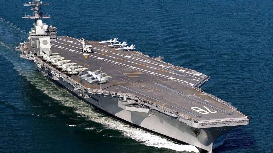 Portaaviones USS Gerald R. Ford. Aviones, submarinos y barcos de guerras mas caros del mundo. Cuanto cuesta un portaviones. Cual es el costo de un avión de guerra. Cuanto vale un submarino nuclear.