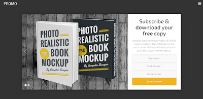 download landing page for ebook
