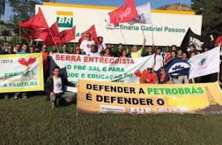 Petroleiros paralisam nesta quarta e já falam em greve por tempo indeterminado