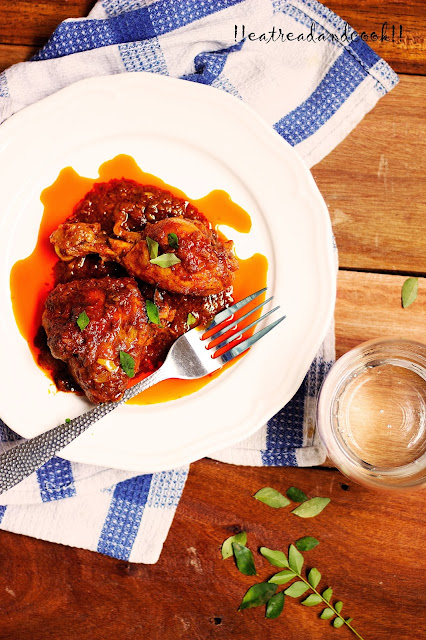 how to make Chicken Ghee Roast recipe and preparation