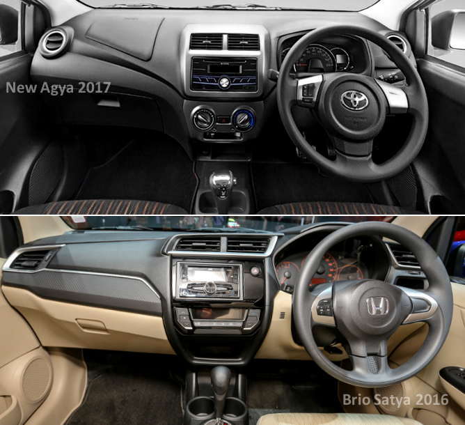 New Agya Trd 2018 Grand Avanza Vs Great Xenia Perbandingan Brio Satya 2017, Pilih Mana ...