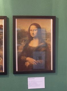 Pinacothèque Jesse Guelfi - Aula particular de inglês com Arte - Mona Lisa