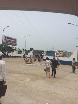 Bến Phà Thạnh Thới ở Hà Tiên
