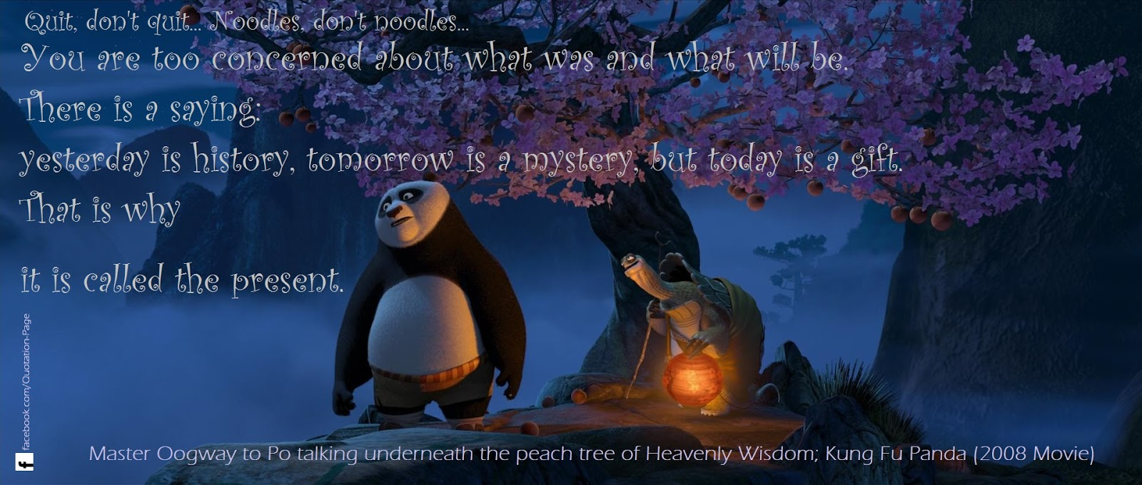 Quotation Page Kung Fu Panda Movie Quotes