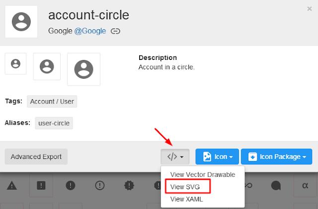 Cara Mengggunakan Icon SVG di Blog