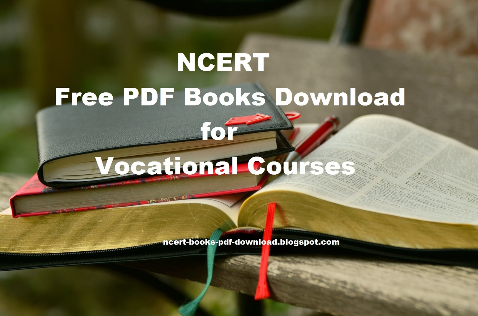 NCERT Free PDF Books Download for Vocational Courses