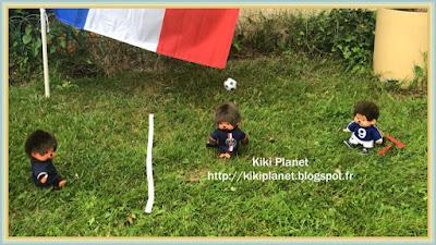 kiki monchhichi football coupe du monde 2018 toys vintage jouets peluche