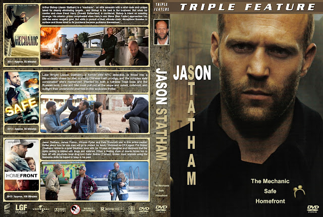 Jason Statham Triple Feature DVD Cover