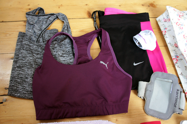Gym kit - leggings, bra and top