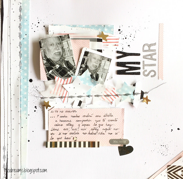 Lay Out, scrap, scrapbook, scrapbooking, Cosido, Studio Tekturek