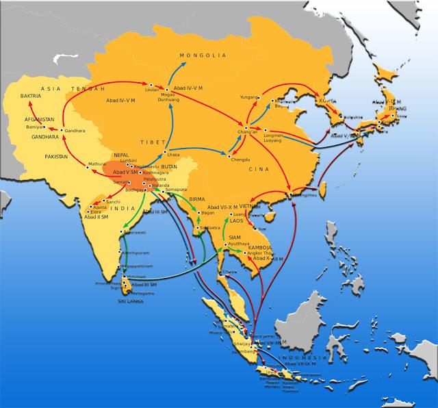Perkembangan agama Buddha di Sriwijaya