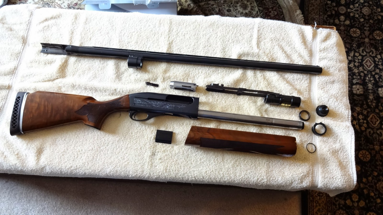 The Order of The Wrench: How To Clean a Remington 1100/11-87