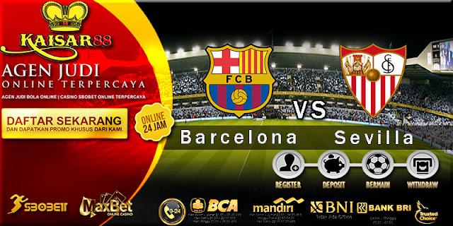 Prediksi Bola Jitu Barcelona vs Sevilla 13 Agustus 2018