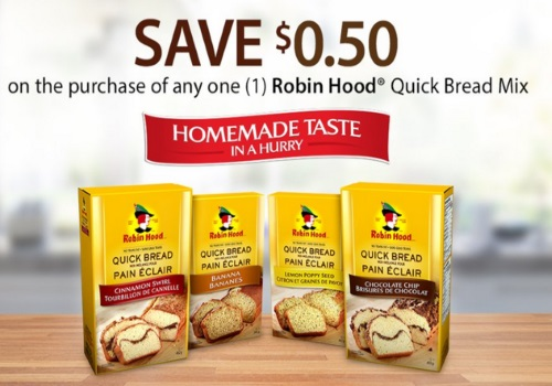Save.ca Robin Hood Quick Bread Mix Coupon