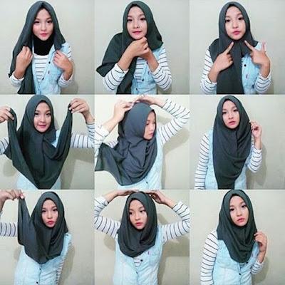 Mau Tampak Cantik Dan Trendy Dengan Hijab Segi Empat? Yuk Coba Tips Berikut!