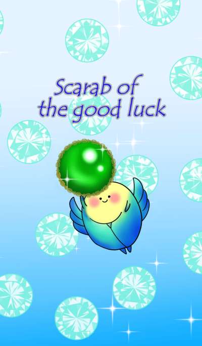 Scarab of the good luck