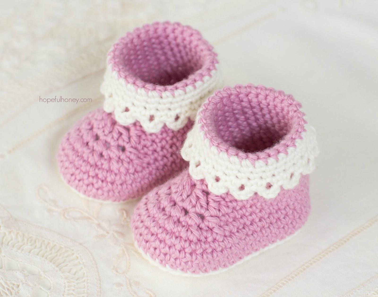 Baby Slippers Crochet Free Pattern American Go Association