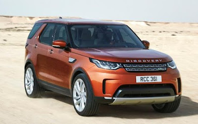 2017 Land Rover Discovery 7 seater SUV