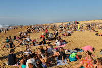 25 CrowdGraviere Quiksilver Pro France foto WSL Laurent Masurel