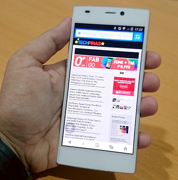 Gionee Elife S5.5, Gionee Smartphone, Thinnest Smartphone in the World, Gionee Elife S5.5 Philippines