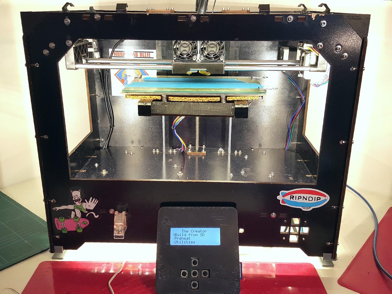 daftmike's blog: CTC Bizer Duplicator... My new 3D printer