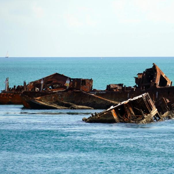 Schiffs Wrack Wreck Moreton Island