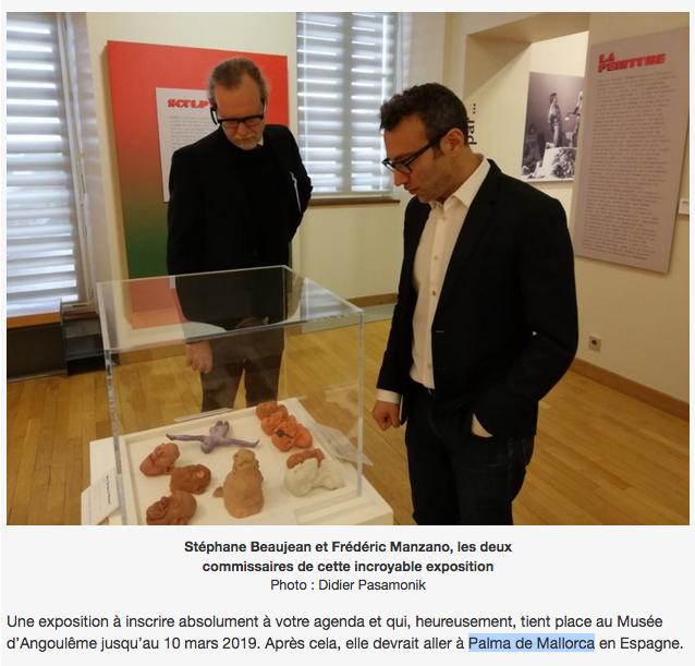 Corben exposición Palma Mallorca
