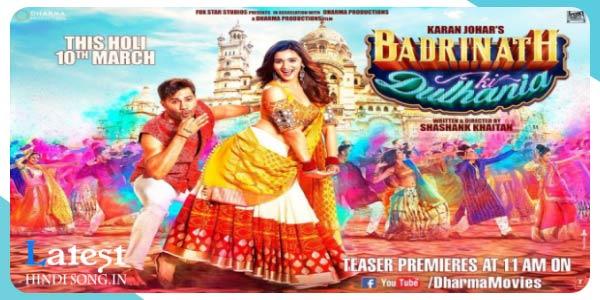 Badrinath-Ki-Dulhania-(2017)-Holi-Song