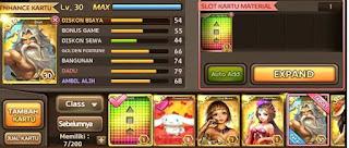 cara expand card gem get rich