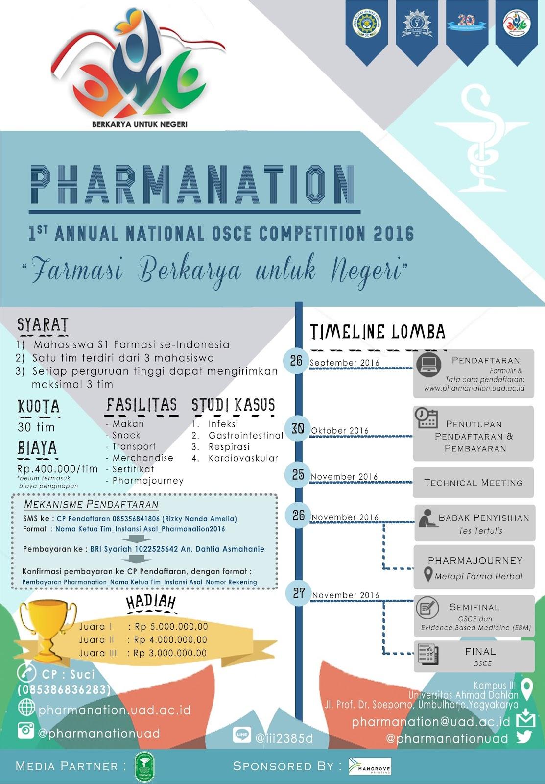 PHARMANATION 2016
