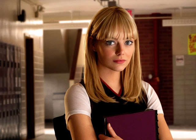 Beautiful Emma Stone in The Amazing Spider-Man 2012 Movie