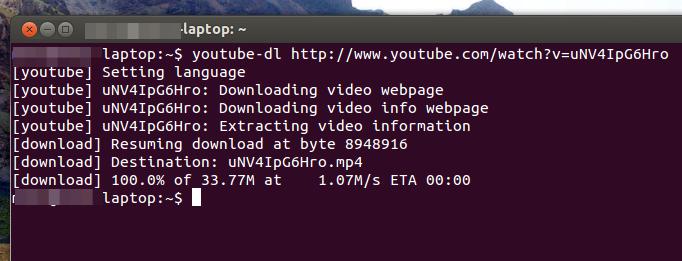 Prescott Linux » Youtube-dl: The best tool for downloading