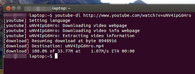 youtube-dl youtube downloader for ubuntu