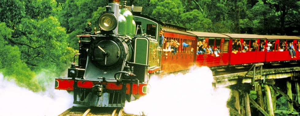 Puffing Billy Steam Train #MyTravelokaEscapade