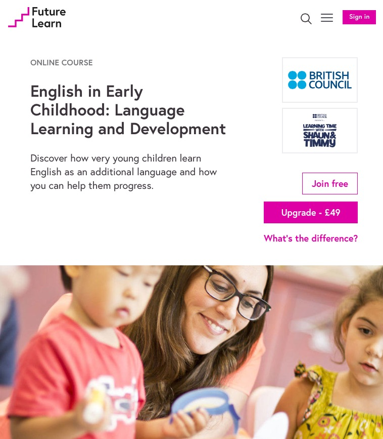 language learning in early childhood Early childhood education can play an essential role in preparing young english language learners (ells) for later success in school children who have an opportunity to develop basic.