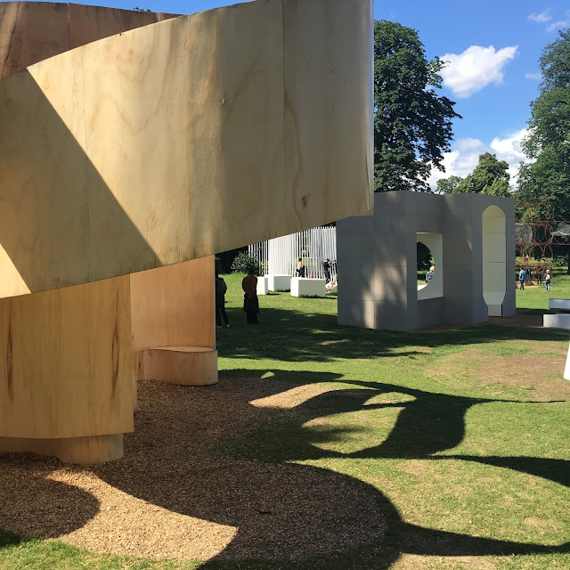 Summer at the Serpentine Pavilion by Laura Lewis