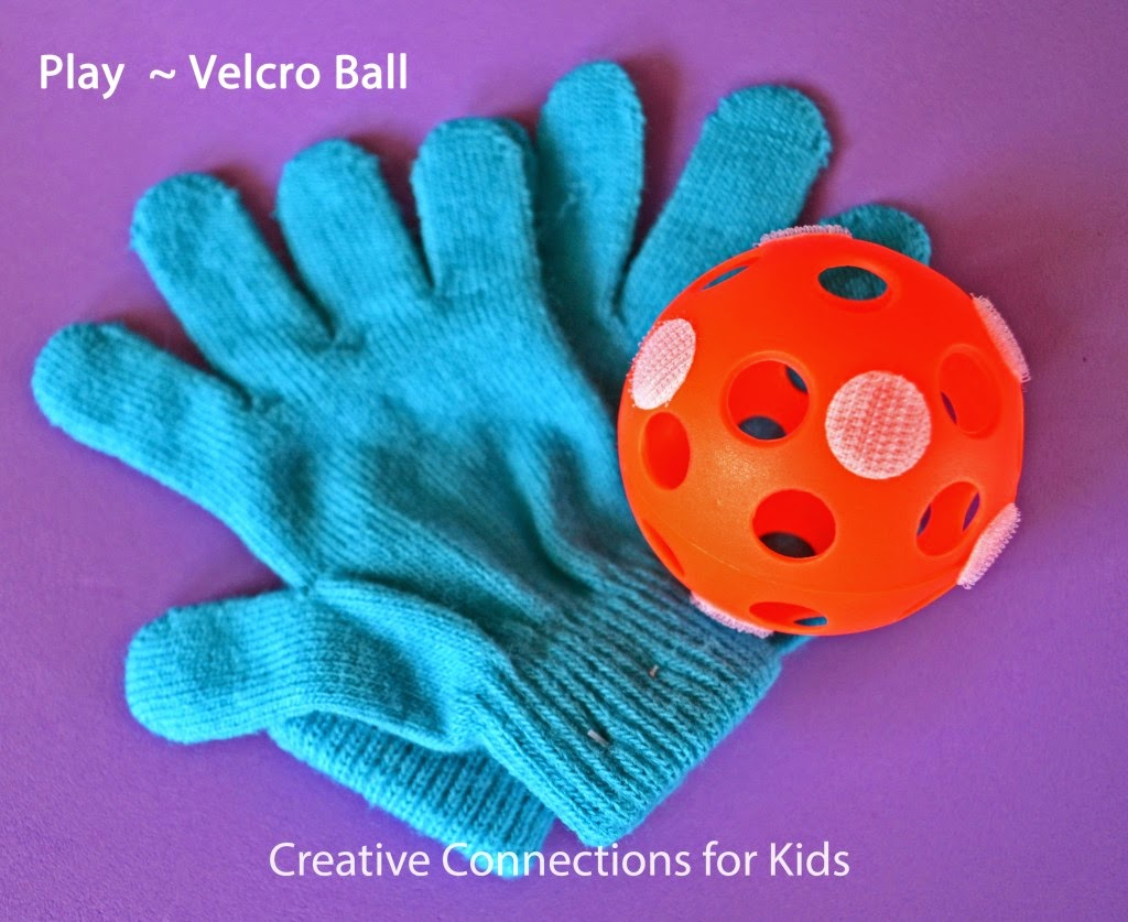 Indoor recess idea, Velcro Ball