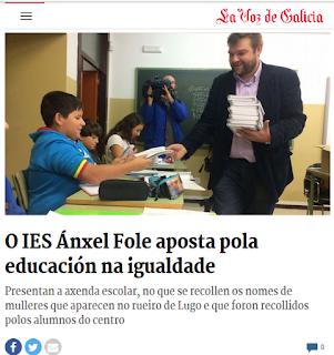 http://www.lavozdegalicia.es/noticia/lugo/2016/10/19/ies-anxel-fole-aposta-pola-educacion-na-igualdade/00031476875812226578326.htm