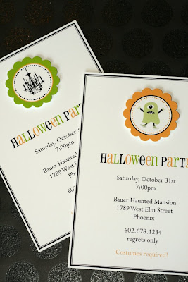 new in the shop printable halloween party circles invitation