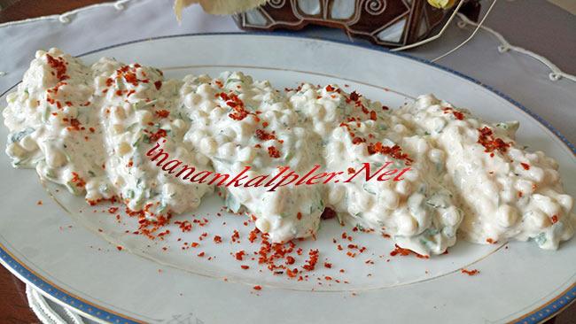 Yoğurtlu Kuskus Salatası Tarifi - inanankalpler.net