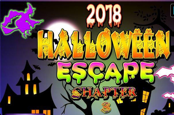 NSREscapeGames Halloween Escape 2018 Chapter 3