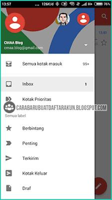cara melihat email di hp samsung