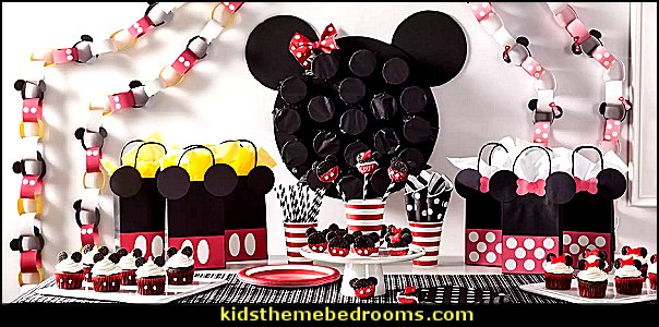 mickey mouse party ideas Minnie Mouse - Mickey Mouse party decoratons Minnie Mouse - Mickey Mouse Party Supplies Minnie Mouse - Mickey Mouse birthday themed party decorations Minnie Mouse - Party Decorations Mickey Mouse Theme - Mickey Mouse Color Balloons - Mickey Minnie Birthday Banner -  Disney party