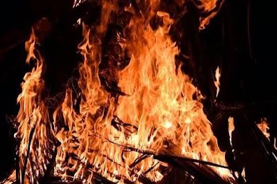 वृद्ध की आग से जलकर मौत | Indar News