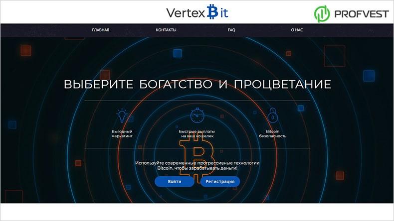 VertexBit обзор и отзывы HYIP-проекта