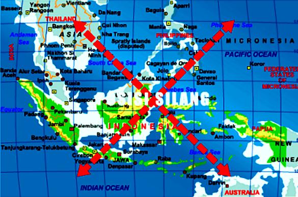 Pengaruh Letak Geografis Indonesia terhadap Kondisi Alam dan Penduduk